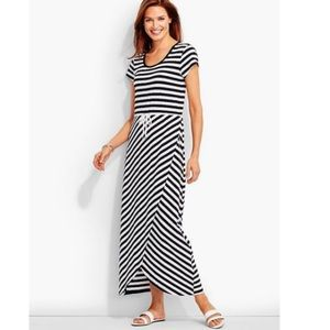 Talbots Sport | Tulip Wrap Maxi Dress